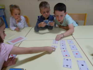 Fabrication d'un jeu de cartes en GS :